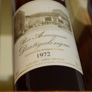 Bas Armagnac Dartigalongue 1972