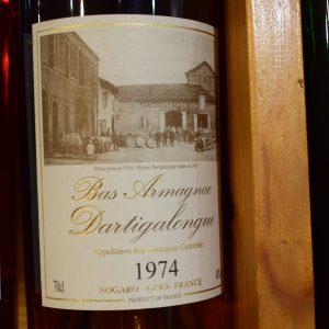Bas Armagnac Dartigalongue 1974