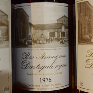 Bas Armagnac Dartigalongue 1976