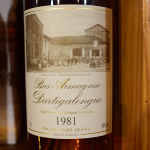Bas Armagnac Dartigalongue 1981