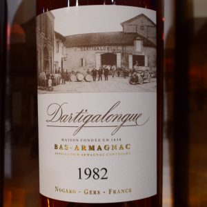 Bas Armagnac Dartigalongue 1982