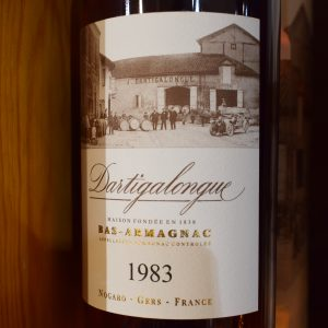 Bas Armagnac Dartigalongue 1983