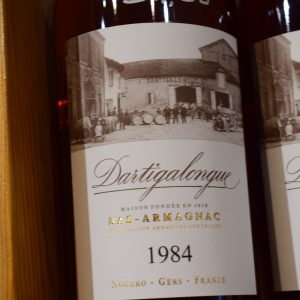 Bas Armagnac Dartigalongue 1984